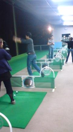 バスケサークルのゴルフ