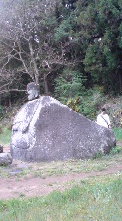 奇跡の石仏